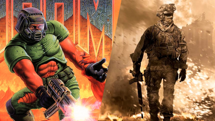 Call of Duty and Doom