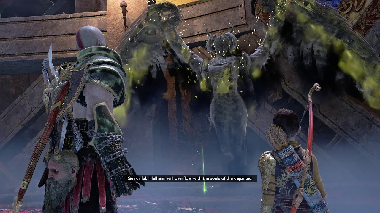 God of War come sconfiggere Geirdriful