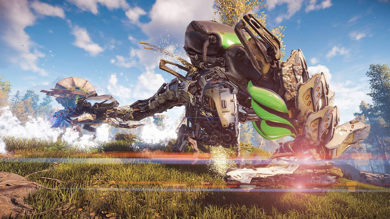 Horizon: Zero Dawn come sconfiggere Manticerio Incendiario
