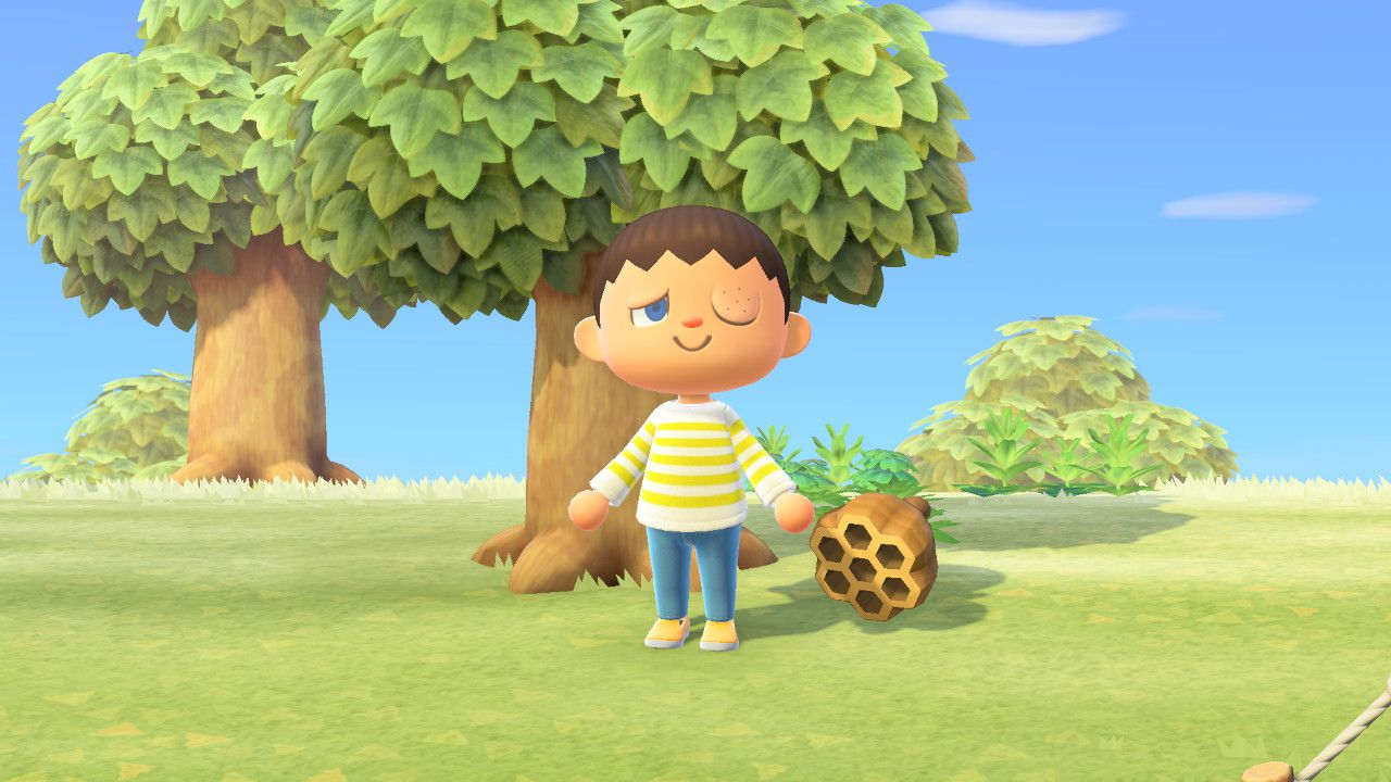 Animal Crossing: New Horizons come catturare api