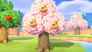 Animal Crossing: New Horizons come spostare alberi