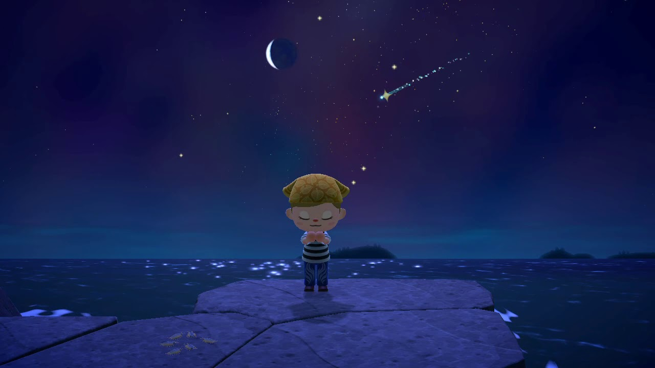 Animal Crossing: New Horizons cosa sono le stelle cadenti