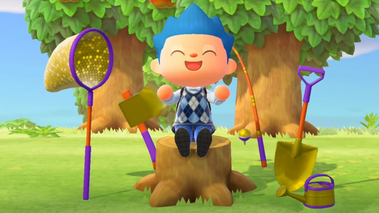 Animal Crossing: New Horizons come ottenere attrezzi dorati
