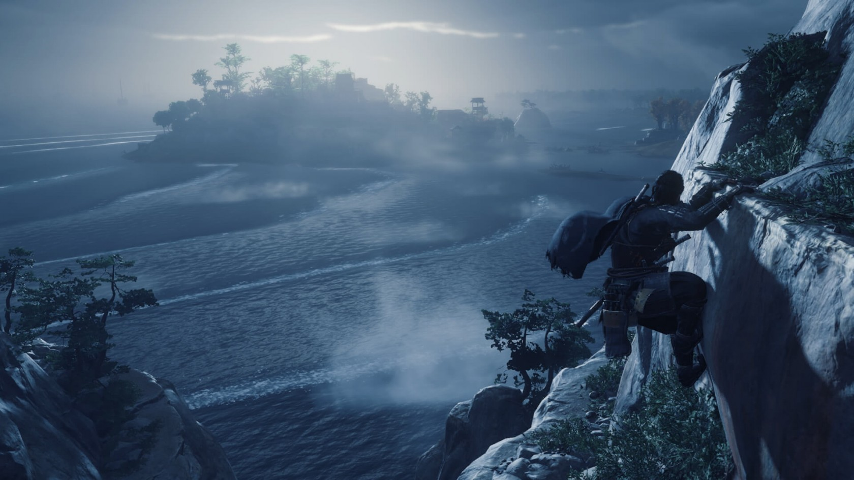 Ghost of Tsushima nuotare