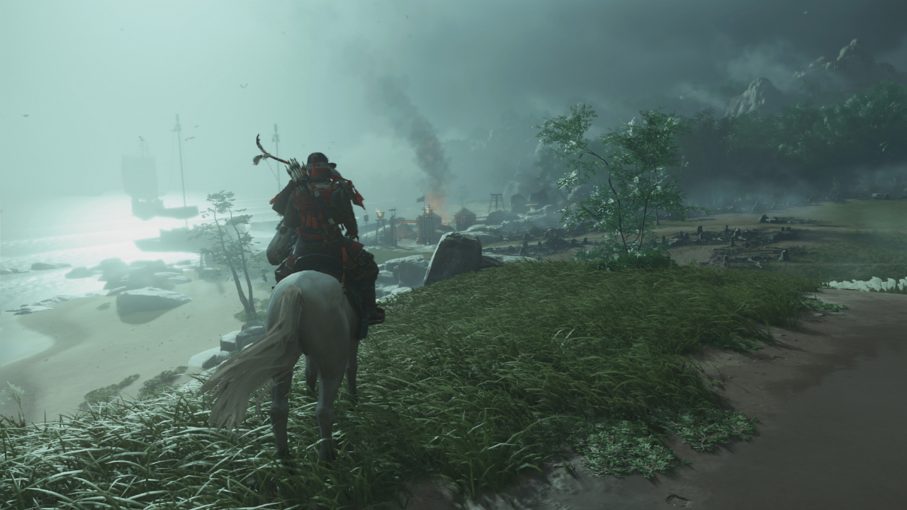 Ghost of Tsushima come si usa il vento